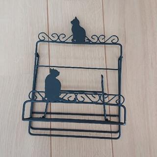 猫  レシピスタンド(収納/キッチン雑貨)
