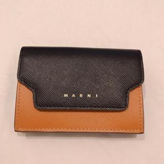 マルニ(Marni)のマルニ 三つ折り財布 マルチカラー 新品(財布)