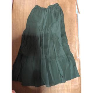 ユニクロ(UNIQLO)の切り替えスカート(ロングスカート)