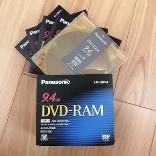 パナソニック(Panasonic)のPanasonic DVD-RAM LM-HB94 10枚(その他)