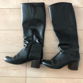 値下げ!美品☆ブラック ロングブーツ S(ブーツ)