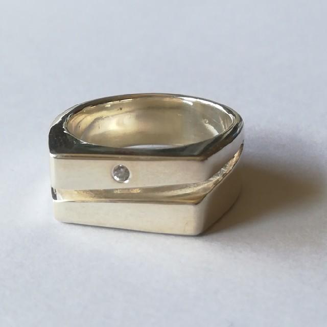 15号 シルバー925リング G レディースのアクセサリー(リング(指輪))の商品写真