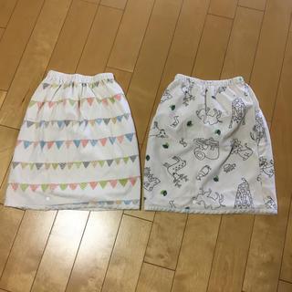 ベルメゾン(ベルメゾン)のベルメゾンおねしょスカート2枚セット(その他)