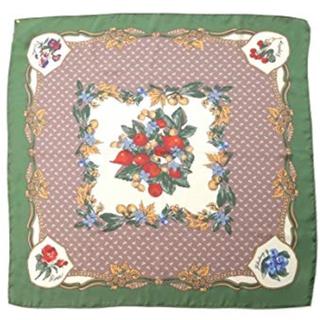 リリーブラウン(Lily Brown)のlily brown  フルーツフラワー柄スカーフ(バンダナ/スカーフ)
