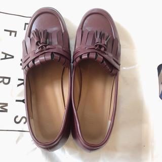 フィント(F i.n.t)のfint タッセル付きローファー(ローファー/革靴)