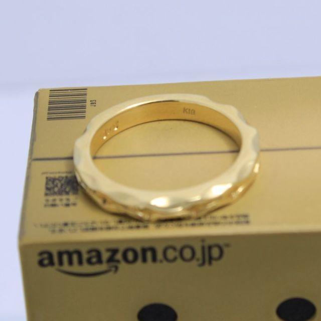 Justin Davis(ジャスティンデイビス)のジャスティンデイビス K18YG 12号 キング&クイーンリング 超高級 超希少 メンズのアクセサリー(リング(指輪))の商品写真