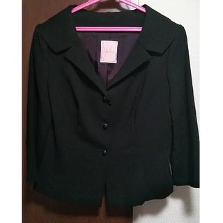 シビラ(Sybilla)の美品 Sybillaの黒ジャケット(テーラードジャケット)