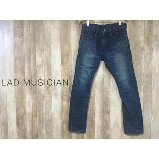 ラッドミュージシャン(LAD MUSICIAN)のラッドミュージシャン スキニーデニム サイズ44 made in japan(デニム/ジーンズ)