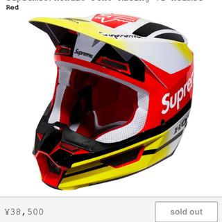 シュプリーム(Supreme)のsupreme honda fox racing v1 helmet(装備/装具)