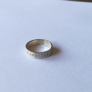 17号 つや消し フランス語リング M(リング(指輪))
