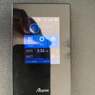 エヌイーシー(NEC)のMR05LN モバイルルーター(PC周辺機器)