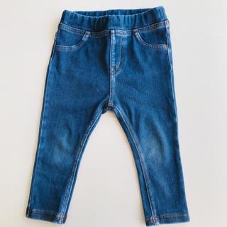 ムジルシリョウヒン(MUJI (無印良品))の無印 サイズ80  デニム レギンス パンツ 無印良品(パンツ)