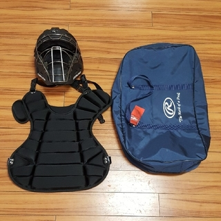 MIZUNO - キャッチャー防具セット ローリングス プロテクター  マスク