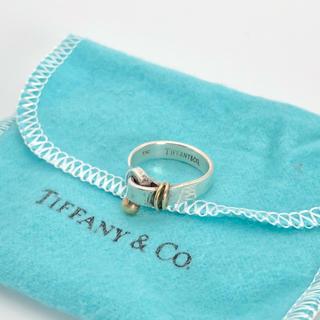 ティファニー(Tiffany & Co.)のSV925 K18 Tiffany ティファニー リング 正規品(リング(指輪))