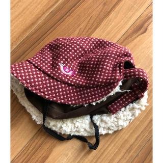 セレク(CELEC)のrichesseリセス  帽子  冬用  レトロ  鳥刺繍(帽子)