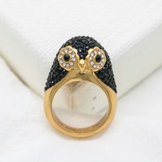 ケイトスペードニューヨーク(kate spade new york)の新品♠ケイトスペード ペンギン 指輪(リング(指輪))