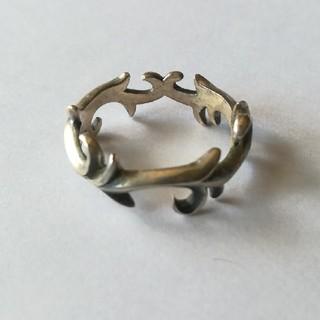 15号 シルバー925 オシャレリング U(リング(指輪))