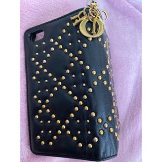 ディオール(Dior)のDior iPhone8 手帳型ケース(iPhoneケース)