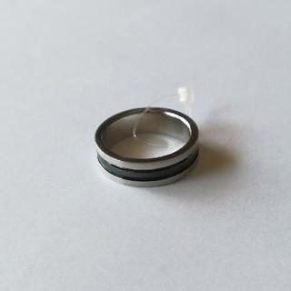 16号 S-Grown社製 ブラックライン ステンレスリング V(リング(指輪))