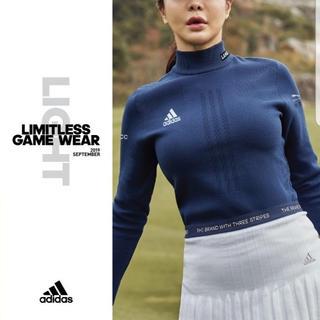 アディダス(adidas)の☆ADIDAS GOLF☆新品/正規/タグ付き ニットプリッツキュロット(ウエア)