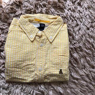 ギャップ(GAP)のGAPシャツ黄色(ブラウス)