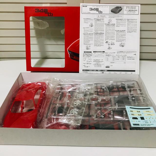 Ferrari(フェラーリ)のフジミ模型 フェラーリ F348tb 1/24 Ferrari プラモデル エンタメ/ホビーのおもちゃ/ぬいぐるみ(模型/プラモデル)の商品写真
