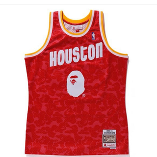 A BATHING APE - BAPE Houston Rockets Camo basketball