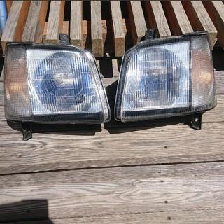スズキ - 今だけ値下げ❣ MC21S ワゴンR ヘッドライト 美品❣
