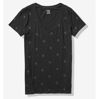 ヴィクトリアズシークレット(Victoria's Secret)のVSPINK VネックT(Tシャツ(半袖/袖なし))