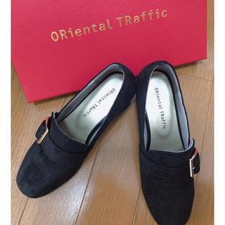 オリエンタルトラフィック(ORiental TRaffic)のスクエアトゥベルトローファー(ローファー/革靴)