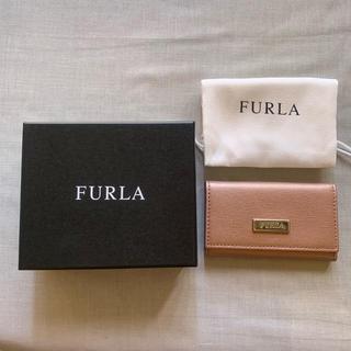 フルラ(Furla)のFURLA 6連 キーケース ピンク(キーケース)