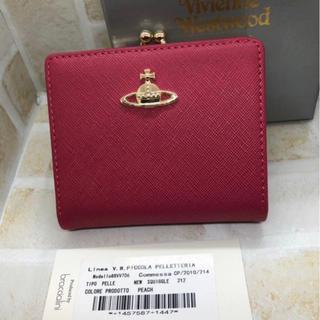 ヴィヴィアンウエストウッド(Vivienne Westwood)のVivienneWestwood 二つ折り  財布 新品未使用 ピンク (財布)