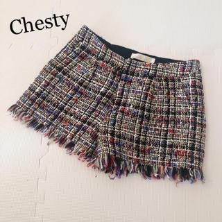 チェスティ(Chesty)のChesty♡ツイードショートパンツ(ショートパンツ)