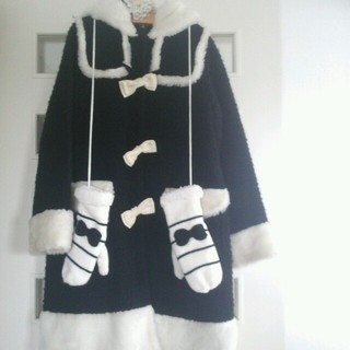 ハートイー(Heart E)のハートE*コート&手袋セット(ロングコート)