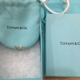 ティファニー(Tiffany & Co.)のエルサ・ペレッティ™ ウェーブ シングルロウ ダイヤモンド リング(リング(指輪))