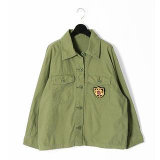 グレースコンチネンタル(GRACE CONTINENTAL)のグレースコンチネンタル☆アーミーシャツカーキジャケット(ミリタリージャケット)