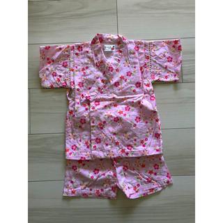 シマムラ(しまむら)の花柄甚平(甚平/浴衣)