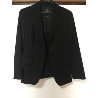 ニジュウサンク(23区)の23区黒のジャケット(テーラードジャケット)
