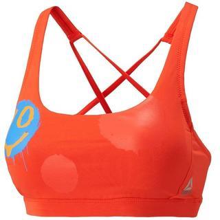 リーボック(Reebok)のReebok スポーツブラ M オレンジ 赤 リーボック 美ブラ 新品(ブラ)