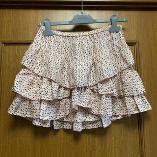 イザベルマラン(Isabel Marant)のISABEL MARANT ETOILE 星柄ティアードスカート サイズ1 美品(ミニスカート)