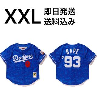 アベイシングエイプ(A BATHING APE)のPlanB様専用 2枚 XXL LOS ANGELES DODGERS(Tシャツ/カットソー(半袖/袖なし))