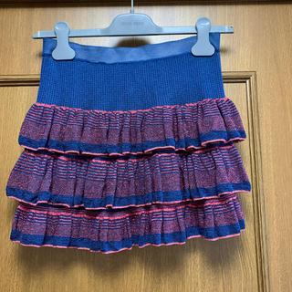 イザベルマラン(Isabel Marant)のISABEL MARANT ETOILE ニットスカート サイズ1(ミニスカート)