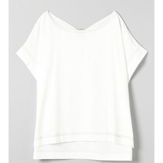 ジーナシス(JEANASIS)のバックリングデザインTEE 元値4400円(Tシャツ(半袖/袖なし))