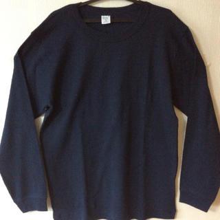 ユナイテッドアローズ(UNITED ARROWS)の⭐️送料込み  未使用 gicipi ロングTシャツ ネイビー(Tシャツ/カットソー(七分/長袖))