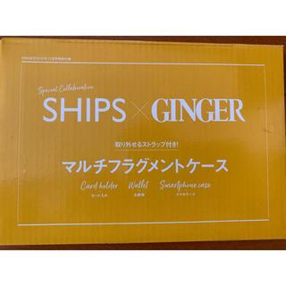 シップス(SHIPS)のSHIPS×GINGER 付録 マルチフラグメントケース(名刺入れ/定期入れ)