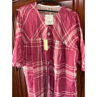ナルエー(narue)のナルエー パジャマ M-Lサイズ 綿100パーセント 新品(パジャマ)