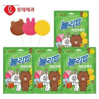 LINE FRIENDS ロリポップ♪ 韓国 お菓子(菓子/デザート)