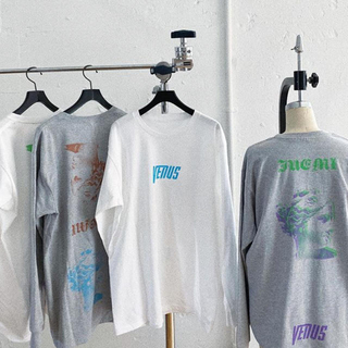 シールームリン(SeaRoomlynn)のjuemi プリントTシャツ(Tシャツ(長袖/七分))