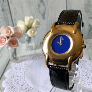 フェンディ(FENDI)の【電池交換済み】FENDI フェンディ 腕時計 400G ブルー ゴールド(腕時計)