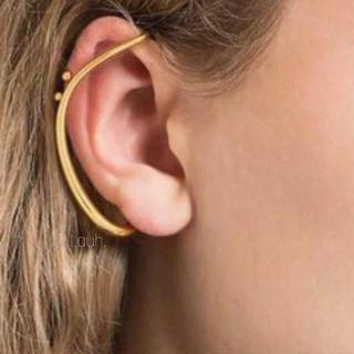ロンハーマン(Ron Herman)のj175.double unique ear cuff(gold)(イヤーカフ)